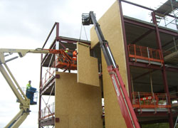 Daventry district council bespoke sip panels for Sip building kits
