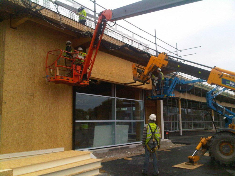 Derby tesco bespoke sip panels for Sip building systems