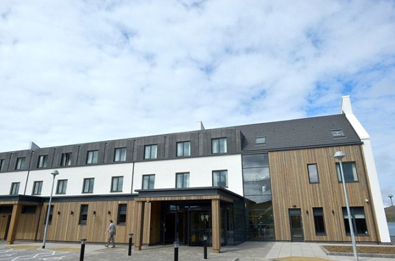 The moorefield hotel shetland bespoke sip panels for Sip building systems