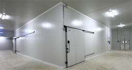 Custom coldrooms controlled environments mobile for Sip building systems